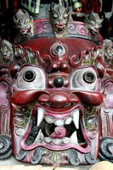 Mask of Bhairab, hindu god