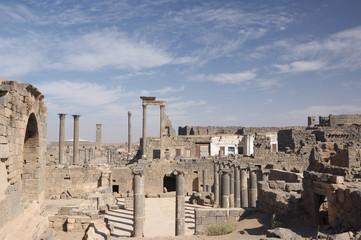 Basra old city on the desert, Syria