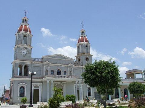 The Manzanillo Parish Church, in Granma Cuba
