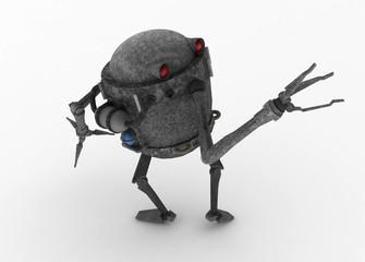 Scrap Metal Robot, Looking Back
