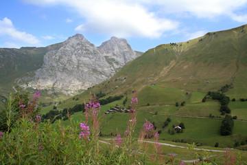 Fototapeten Gebirge Paysage