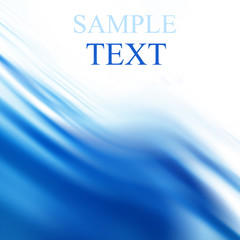 abstract blue background with white and blue