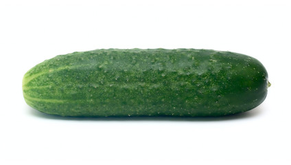 Cucumber vegetable isolated on white for your design