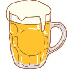 Beer Mug Clip Art Graphic Design Image Illustration