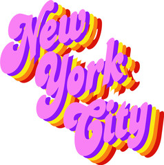 NYC Clip Art Graphic Design Image Illustration