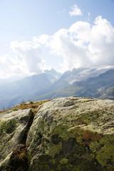 Fels in Berglandschaft