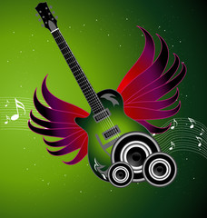 Awesome music vector illustration