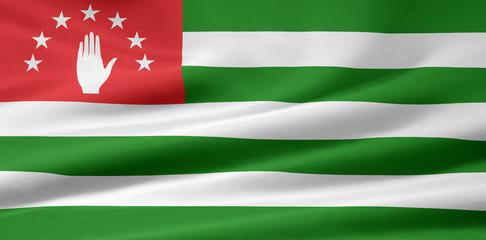 Abchasische Flagge