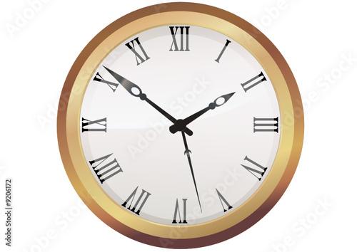 horloge ancienne d tour fichier vectoriel libre de droits sur la banque d 39 images fotolia. Black Bedroom Furniture Sets. Home Design Ideas