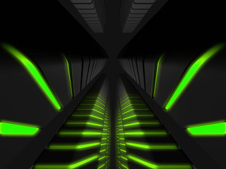 fantasy_buildings_with_green_lights