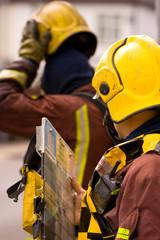 Emergency Services fire men