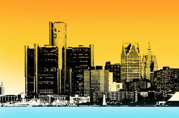 Downtown Detroit City