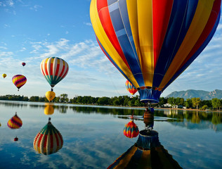 Wall Murals Balloon Hot Air Balloons