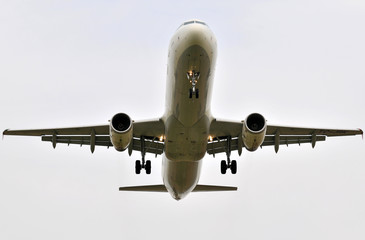Atterrissage Airbus A321