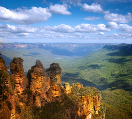 Keuken foto achterwand Australië Three Sisters, Blue Mountains