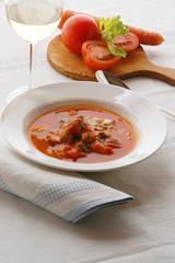 Zuppa di pesce Brodetto all istriana - Cucina dell Istria