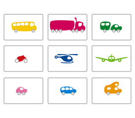 funky vehicles colour