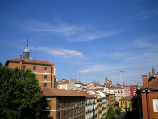 Vue de Madrid