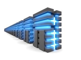 parallel_fantasy_databases_in_a_white_background