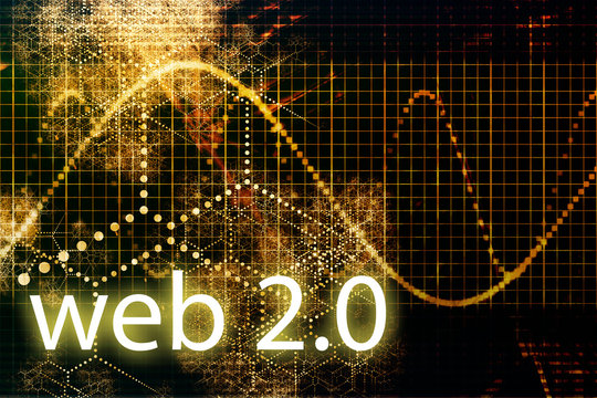 Web 2.0 Abstract Technology Business Concept Wallpaper