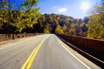 Bridge across the Cumberland River in Kentucky