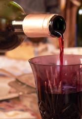 In de dag Wijn verre de vin