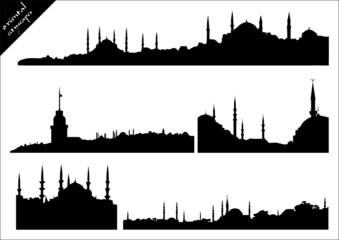 oriental cityscape