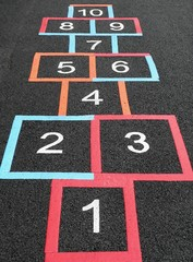 Hopscotch Squares