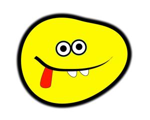 Cheeky Cartoon Face