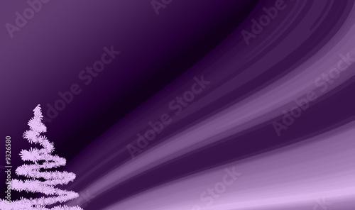 fond sapin violet