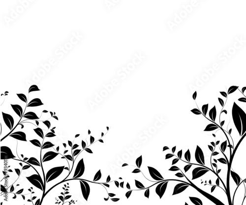 vecteur s rie design floral bordure fichier vectoriel libre de droits sur la banque d 39 images. Black Bedroom Furniture Sets. Home Design Ideas