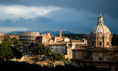 Poster Rome Rome panorama