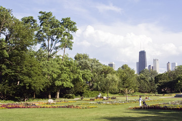 View from Lincoln Park - Chicago, IL.