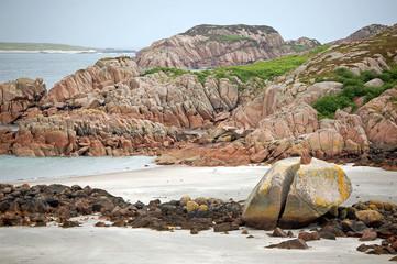 stone at the beach