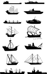 ship silhouette vector file
