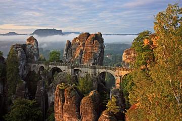 Sächsische Schweiz-Basteibrücke