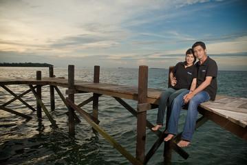 Asia Happy Couple