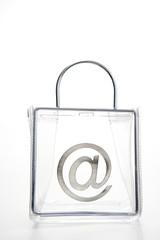'At' Symbol In A Bag