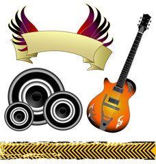 A set of high quality music elements