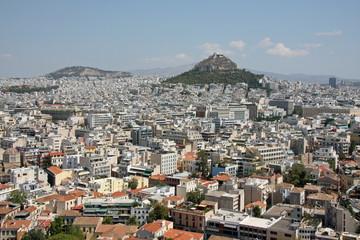 Athen mit Lykavittos