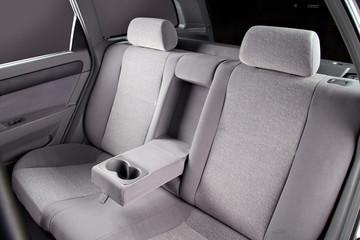 car back seat interior