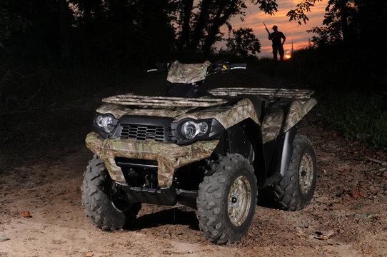 ATV and Hunter
