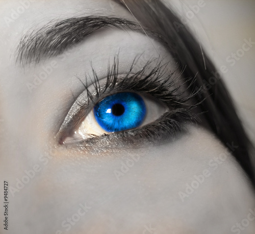 """bright blue eye close up"" Stock photo and royalty-free ... Bright Blue Eyes Close Up Tumblr"
