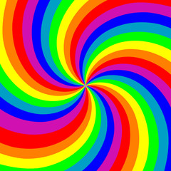 bstract colorful swirl background
