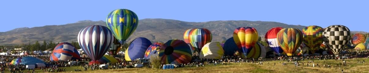 Poster Ballon Hot air balloons