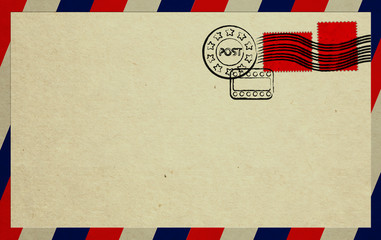 Unread Letter With Red Stamps