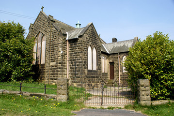 Disused church, North Yorkshire, UK