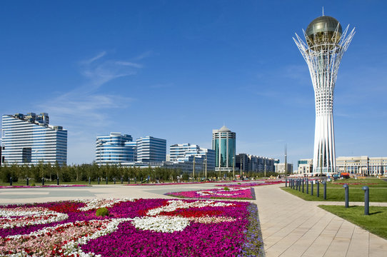 Astana - Bayterek Tower