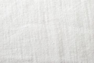 Cotton white fabric texture to background,