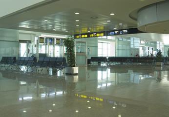 Sala de embarque de un aeropuerto
